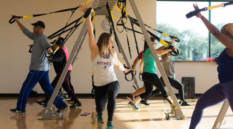 Get total body training with TRX