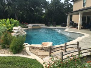 ... Like This Japanese Bridge, Provides An Opportunity To Connect The Yard  And Garden To The Poolu0027s Hardscape. Photo Courtesy Of CENTRAL TEXAS POOL U0026  PATIO
